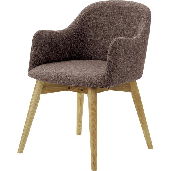 ダイニングチェア 天然木 木製 食卓チェアー 食卓椅子 いす イス 椅子 ダイニングチェアー ファブリック レトロ モダン 北欧 ブルックリン 西海岸 男前 インテリア おしゃれ シンプル アンティーク カントリー かわいい 高級感 ブラウン