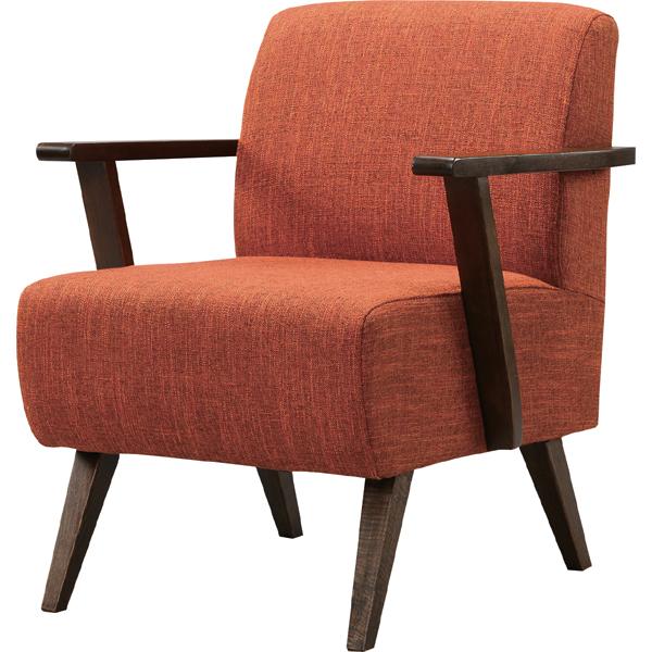 ソファ 1人掛け 一人掛け 1人用 イス 椅子 チェアー チェア 肘付き 木製 北欧 モダン レトロ カフェ風 西海岸 ブルックリン おしゃれ かわいい リビング 一人暮らし