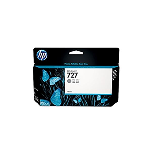 【純正品】 HP インクカートリッジ 【B3P24A HP727 グレー 130】