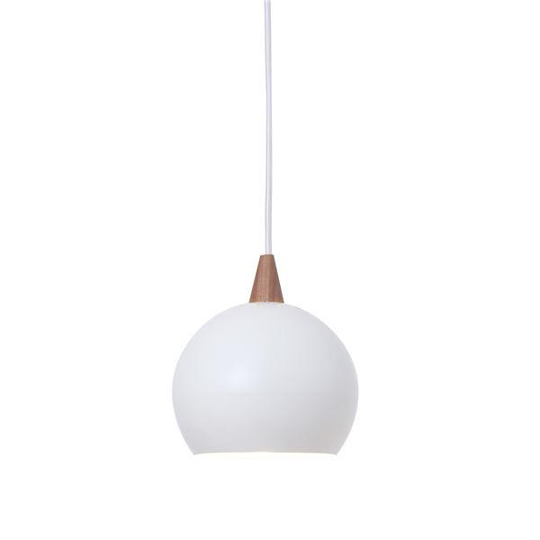 ペンダントライト/照明器具 【1灯】 スチール製 ELUX(エルックス) PECKER ホワイト(白) 【電球別売】【代引不可】
