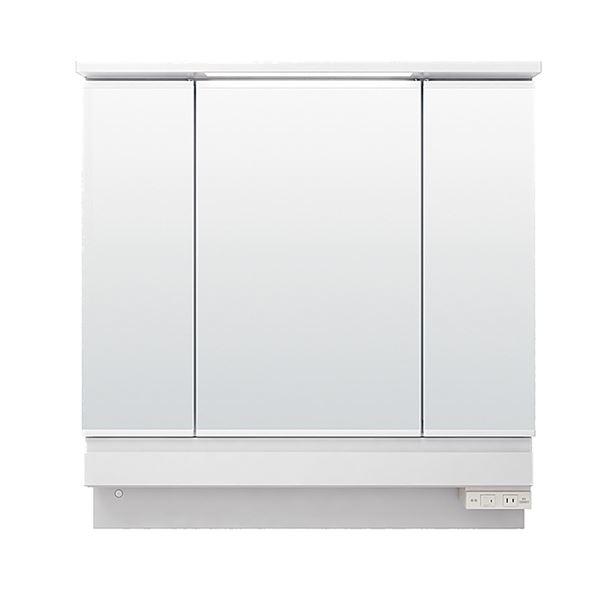 LIXIL INAX (リクシル イナックス) K1シリーズ ミラーキャビネットSP付三面鏡全収納タイプ (LED) MK1X2-903KXJU
