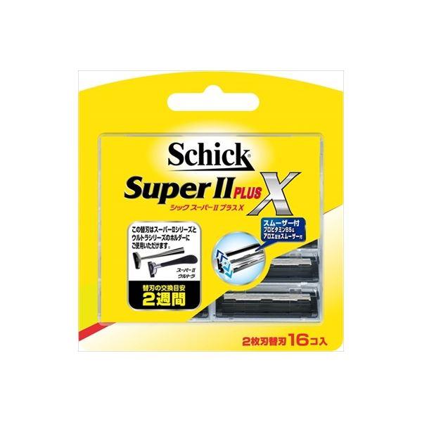 シック(Schick) スーパー2プラス 替刃(16コ入) × 3 点セット