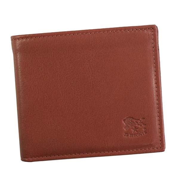IL BISONTE(イルビゾンテ) 2つ折小銭付き財布 C0487/M 245 ROSSO