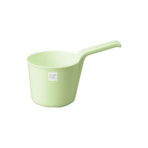 【40セット】 シンプル 手桶/湯おけ 【パステルグリーン】 材質:PP 『HOME&HOME』【代引不可】