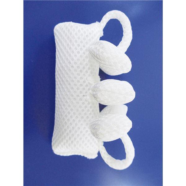 (まとめ)ホワイトサンズ 床ずれ防止用具・体位変換器 ミラクルグリップ40(2個/セット)【×2セット】