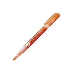 (業務用300セット) ZEBRA ゼブラ 蛍光ペン 蛍光オプテックス1 EZ 【オレンジ】 つめ替え式 WKS11-OR