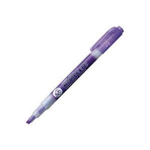 (業務用300セット) ZEBRA ゼブラ 蛍光ペン 蛍光オプテックス1 EZ 【紫】 つめ替え式 WKS11-PU