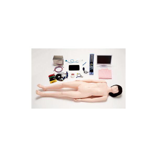 フィジカルアセスメントドール/看護実習モデル人形 【ともこPlus】 専用タブレット付き M-103-0【代引不可】