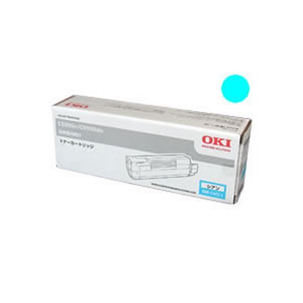 (業務用3セット) 【純正品】 OKI 沖データ トナーカートリッジ 【TNR-C4CC1 C シアン】