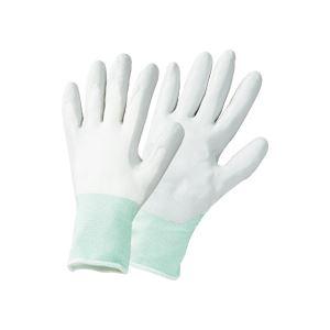 (まとめ) TANOSEE ニトリルゴム手袋薄手 L グレー 1セット(25双:5双×5パック) 【×3セット】