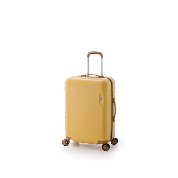 スーツケース/キャリーバッグ 【イエロー】 29L 機内持ち込み可能サイズ ダイヤル式 アジア・ラゲージ 『MAX SMART』