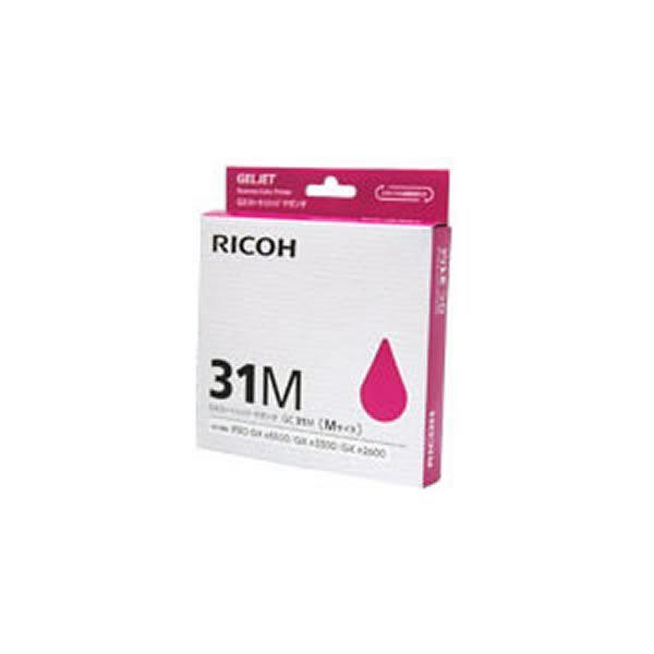 【業務用5セット】【純正品】 RICOH リコー インクカートリッジ/トナーカートリッジ 【GC31M M マゼンタ】 ×5セット