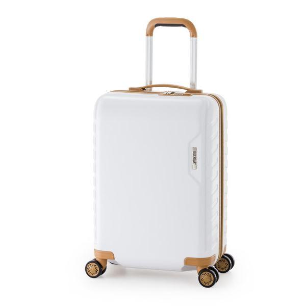 スーツケース/キャリーバッグ 【ホワイト】 71L ダイヤル式 TSAロック アジア・ラゲージ 『MAX SMART』
