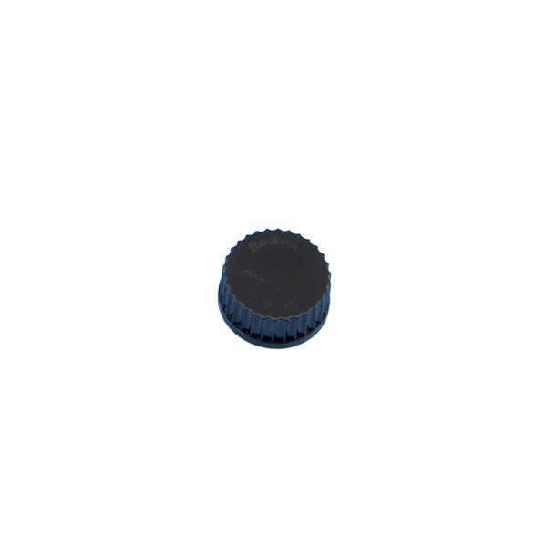 【柴田科学】ねじ口びん黒キャップ GL-45【10個】 017200-450A
