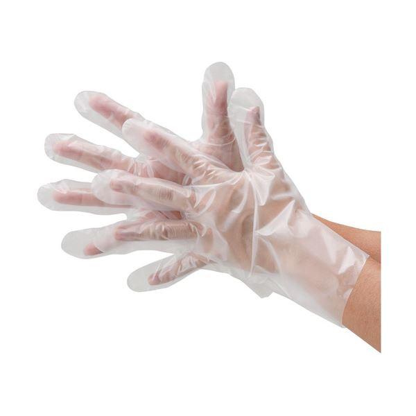 川西工業 ポリエチレン手袋外エンボス袋エコノミーS60袋
