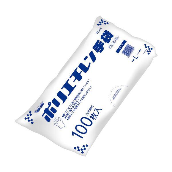 川西工業 ポリエチレン手袋外エンボス袋エコノミーL60袋