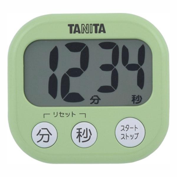 いつでも送料無料 送料無料 爆売りセール開催中 デジタルタイマー でか見えタイマー TD-384 ピスタチオグリーン