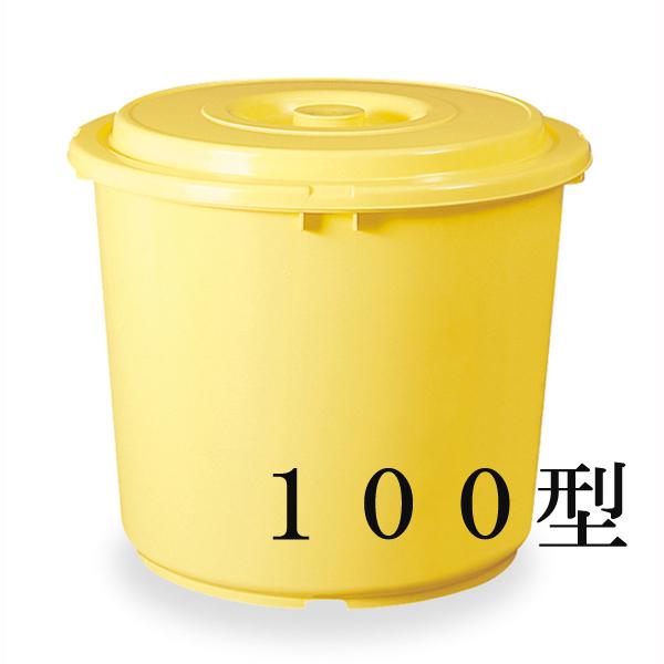 トンボ つけもの容器(蓋・押蓋付)100型 【× 5個】