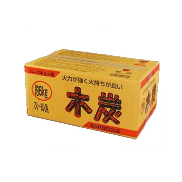 KS バーベキュー木炭6kg 【× 3個】