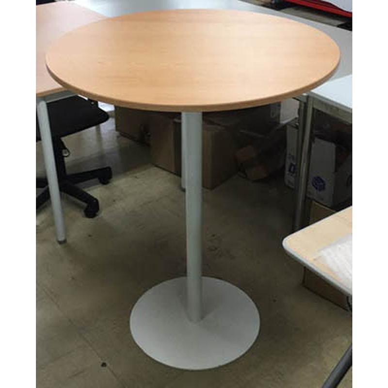 送料無料 ミーティングカウンターテーブル ラウンド ハイテーブル バーテーブル おしゃれ