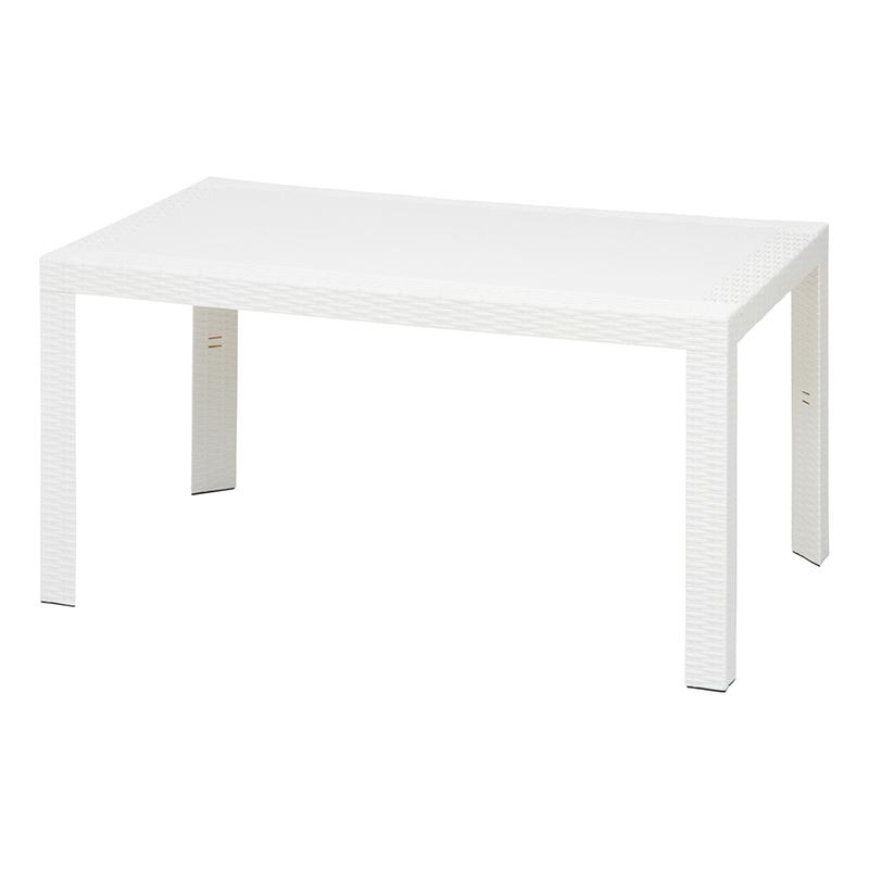 [C/D:12518] ステラ テーブル 80×140 ホワイト