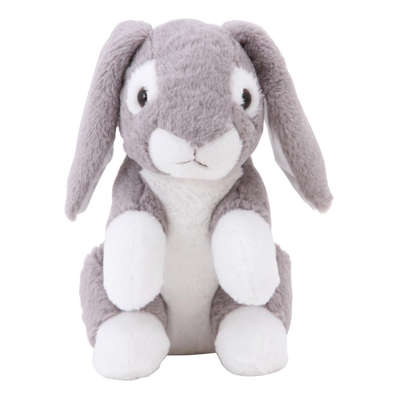 送料無料 6個入り 縫いぐるみ ぬいぐるみ ウサギ 25cm グレー プレゼント おもちゃ 子供 女の子 女性 彼女 ベッド 雑貨 ホワイトデー お祝 出産 誕生日 クリスマス