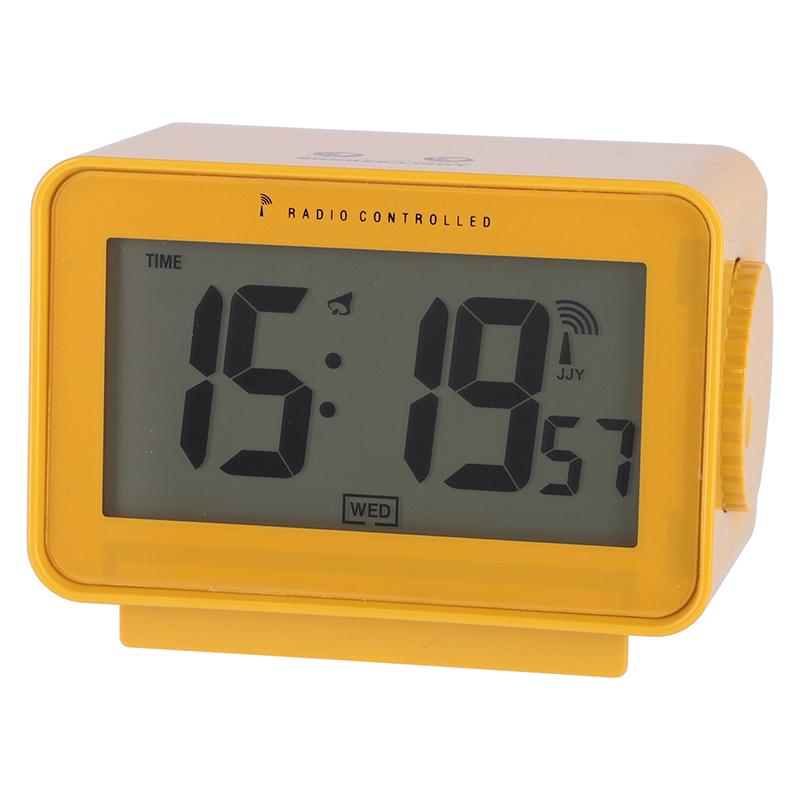 [C/D:27323] [セット数:6pcs] 電波置時計アリア YE
