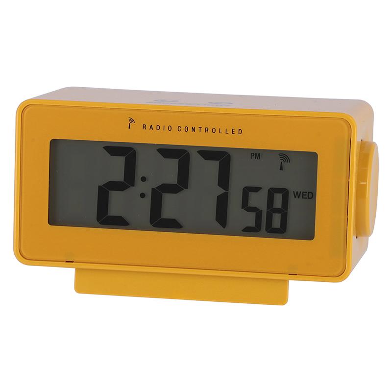 [C/D:27327] [セット数:6pcs] 電波置時計ラルト YE
