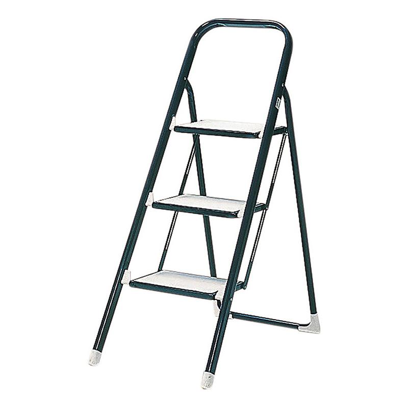 送料無料 3個入り ステップラダー2 3段 脚立 折りたたみ 折り畳み はしご 踏み台 ステップ 梯子 コンパクト 省スペース スチール お掃除 洗車 ブルー シンプル おしゃれ
