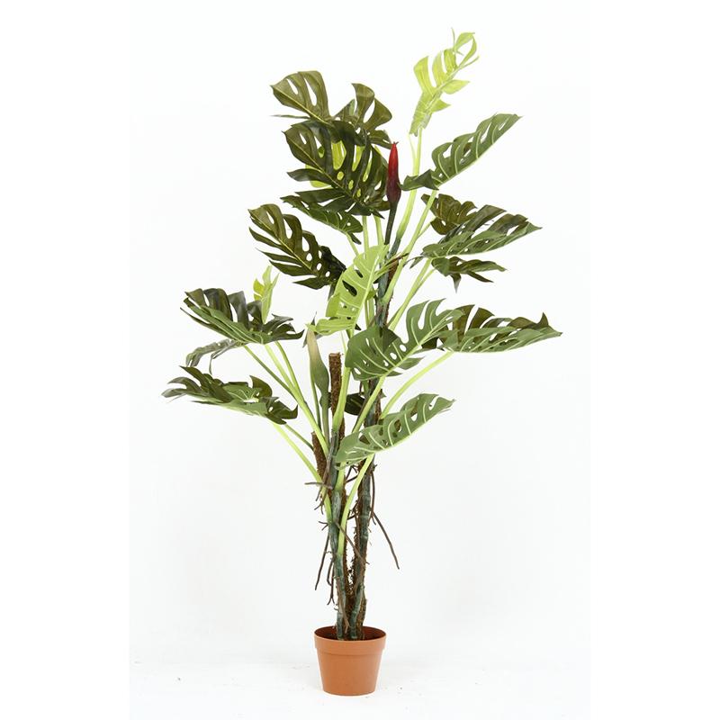 送料無料 観葉植物 スプリット 人工観葉植物 フェイクグリーン 造花 引っ越し祝い 新築祝い おしゃれ かわいい インテリア 雑貨