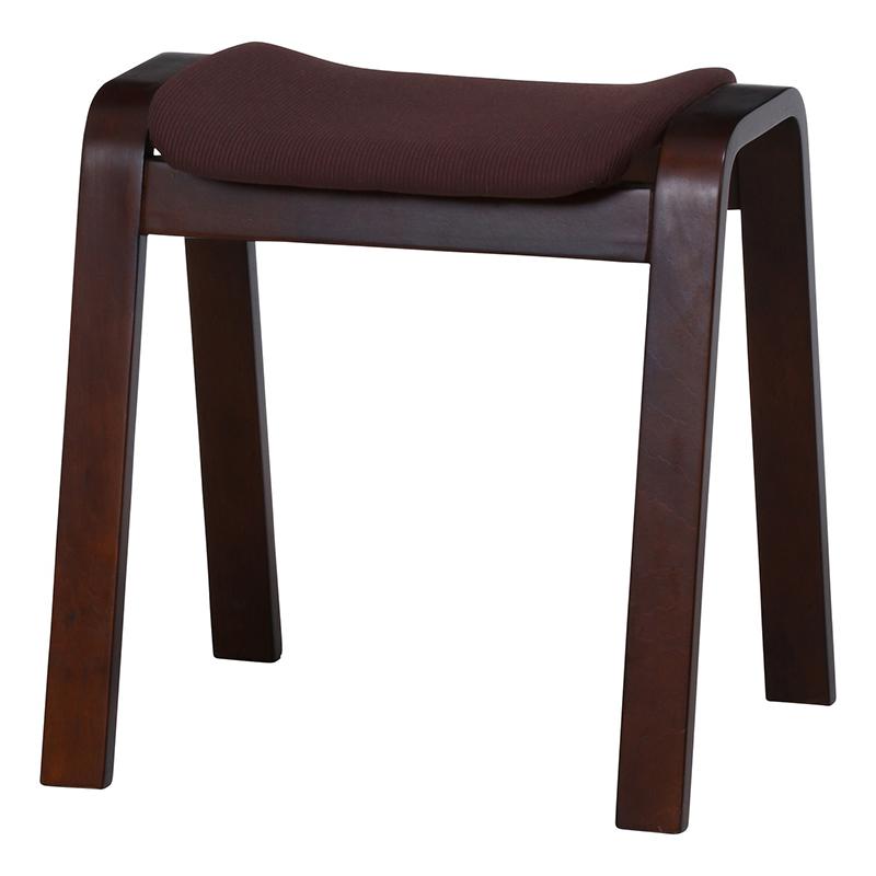 送料無料 4脚セット 曲木スツール スツール イス 椅子 いす チェアー チェア 腰掛け 木製 会議室 リビング キッチン オフィス シンプル モダン コンパクト おしゃれ かわいい 北欧 ダークブラウン