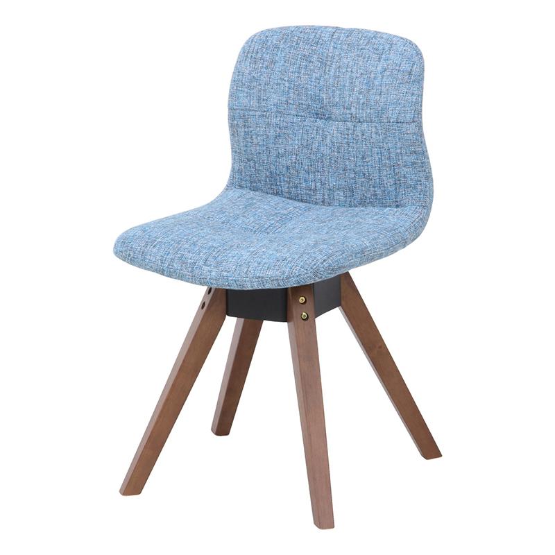 送料無料 ダイニングチェアー 2脚組 2脚セット 回転式 回転チェアー ダイニングチェア コンフォート 1人掛け 1人がけ イス 椅子 いす チェア 食卓椅子 北欧 モダン レトロ インテリア 高級感 おしゃれ かわいい デザイン ライトブルー