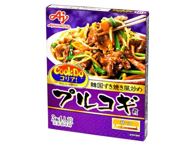 信用 味の素 CookDo 毎週更新 コリア プルコギ用 x10 110g 敬老の日