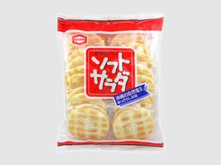 亀田製菓 メーカー直売 売却 ソフトサラダ 20枚 敬老の日 x12