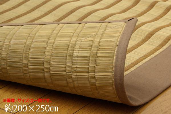 い草 い草ラグ ラグ カーペット 3畳 国産 掛川織 『剣ヶ峰』 約200×250cm
