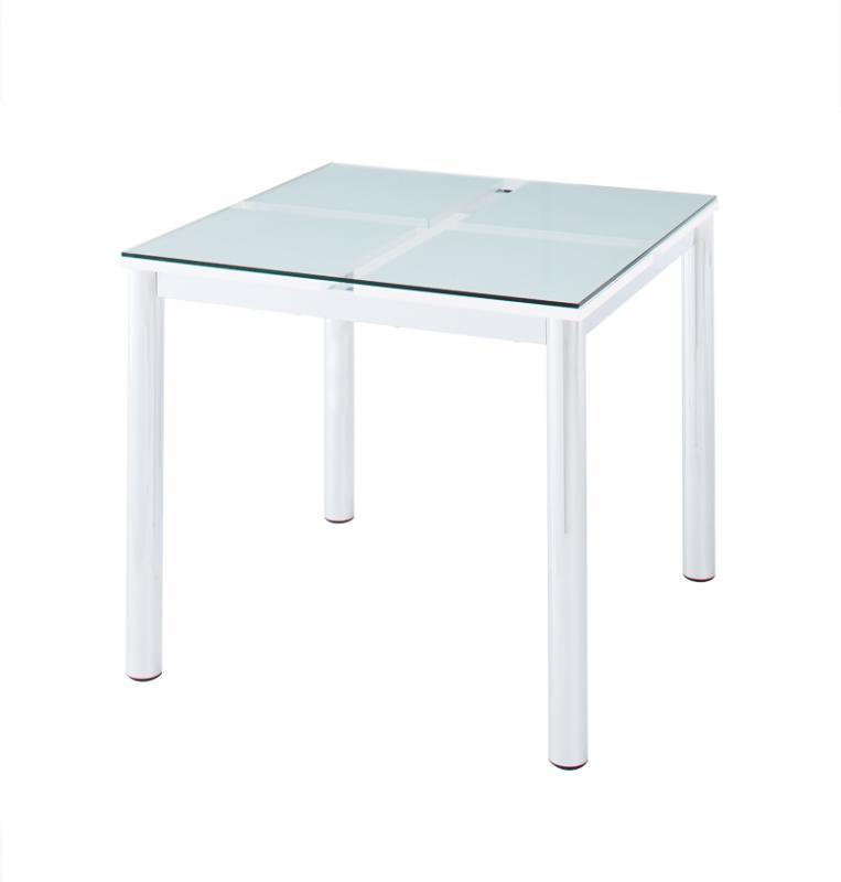 送料無料 ガラスダイニングテーブル テーブル単品 ガラステーブル 強化ガラス ダイニングテーブル ガラスデザインダイニング -ディ・モデラ/テーブル 幅80cm- 食卓テーブル モダン シンプル 家具通販 新生活 敬老の日