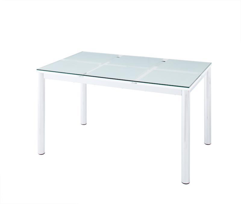 送料無料 ガラスダイニングテーブル テーブル単品 ガラステーブル 強化ガラス ダイニングテーブル ガラスデザインダイニング -ディ・モデラ/テーブル 幅130cm- 食卓テーブル モダン シンプル 家具通販 新生活 敬老の日