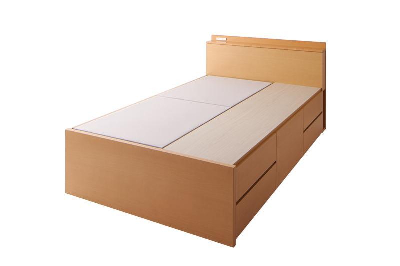 送料無料 組み立て サービス付き 収納付きベッド セミシングルベッド 日本製ベッドフレームのみ セミシングルサイズ 木製ベッド ブレンダ ヘッドボード 宮付き 棚付き 収納付き コンセント付き ベッド下 大容量収納 長物収納 引き出し付きベッド ベット ワンルーム