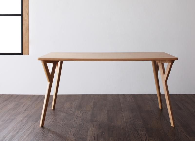 【送料無料】 北欧 モダン ダイニングテーブル単品 幅140cm おしゃれ 4人掛け テーブル 140×80 机 コンパクト デスク 作業台 木製テーブル 食卓テーブル ダイニング デザインダイニング イラーリ リビングテーブル 天然木 木目