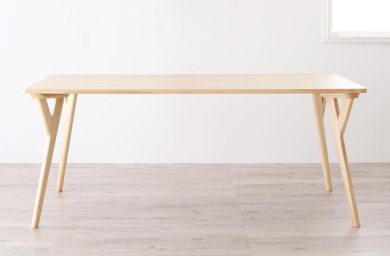 送料無料 ダイニングテーブル単品 幅170cm 北欧デザイン ワイドダイニング 4人用 テーブル オレロ つくえ 机 作業台 食卓テーブル 木製テーブル 天然木 木目 ひとり暮らし ワンルーム シンプル おしゃれ 北欧 かわいい