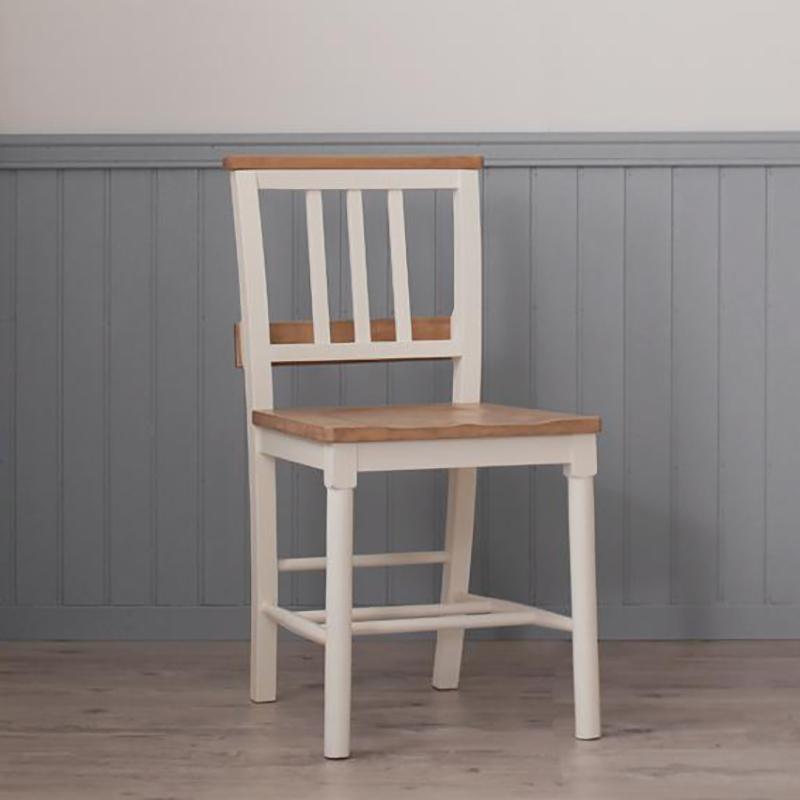 送料無料 チャーチチェア (単品) チェア チェアー フレンチシャビーテイストシリーズ家具 リーリウム チャーチチェアー 1脚 いす イス 椅子 ダイニングチェア ホワイト 白 高級感 おしゃれ