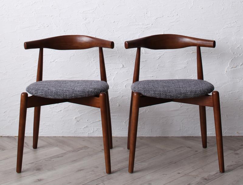 送料無料 チェアA (エルボーチェア×2脚組) 北欧デザイナーズダイニング シュプリメイト エルボーチェアー チェア チェアー ダイニングチェアー 椅子 イス いす 食卓椅子 木製 高級感 おしゃれ