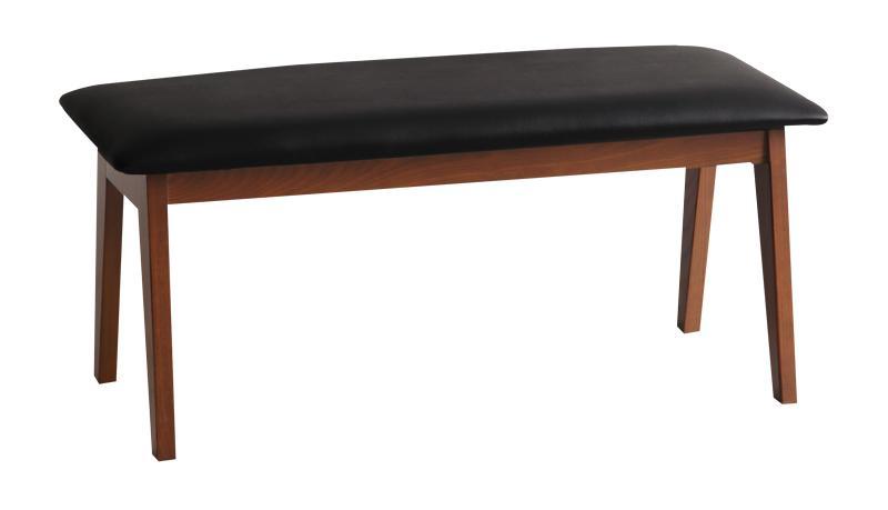 送料無料 ベンチ 幅100cm デザインダイニングベンチ 2人掛け 2人用 カーリン ダイニングベンチ ベンチチェアー ベンチチェア リビング 椅子 イス いす 食卓椅子 木製 高級感 おしゃれ 北欧モダン