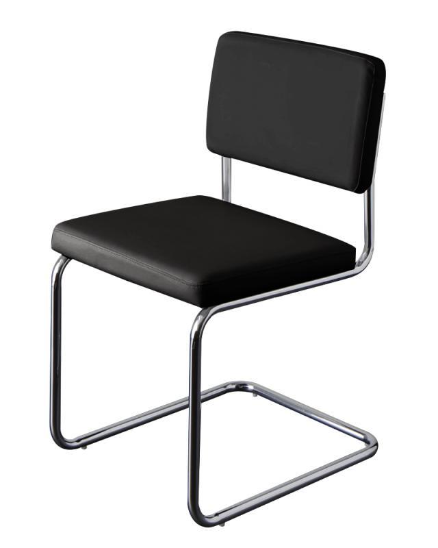 送料無料 スチールデザインチェア(2脚組) ダイニングチェア チェア チェアー ブレイド ダイニングチェアー 椅子 イス いす 食卓椅子 食卓チェア スチール ソフトレザー 高級感 おしゃれ モダン