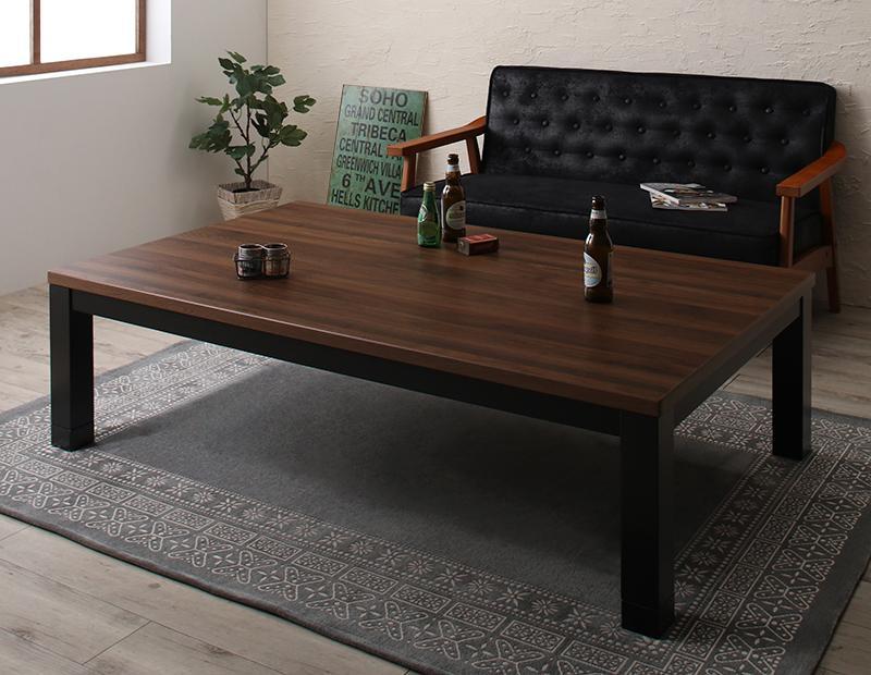 ヴィンテージデザイン古木風こたつテーブル 7th Ave セブンスアベニュー 5尺長方形(90×150cm)