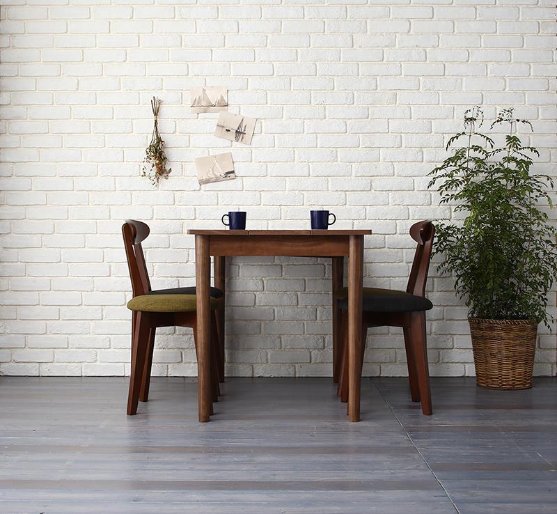 【送料無料】 ダイニングセット 5点セット(テーブル ブラウン W115+チェア2脚+スツール2脚) カフェ ヴィンテージ ダイニング Mumford マムフォード 木製 食卓 4人掛け ダークグレー グリーン