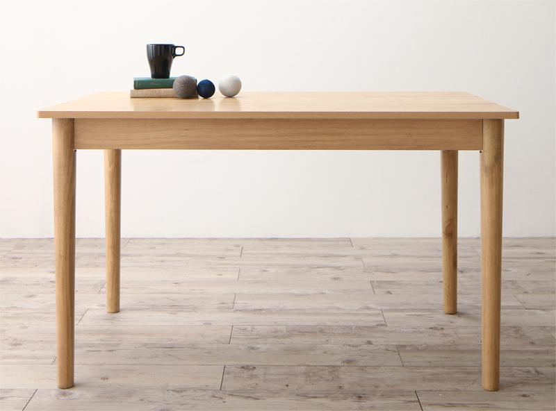 【送料無料】 ダイニングテーブルのみ 幅115 奥行68 高さ67cm 北欧デザインソファ リビングダイニング SLIVE スライブ 天然木 木製 角型 食卓テーブル リビングテーブル 4人掛け ナチュラル