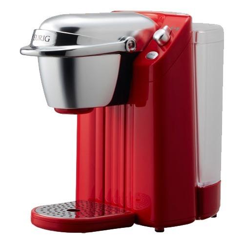 キューリグ 家庭用コーヒーマシン ネオトレビエ クイーンレッド BS-200QR(1台)
