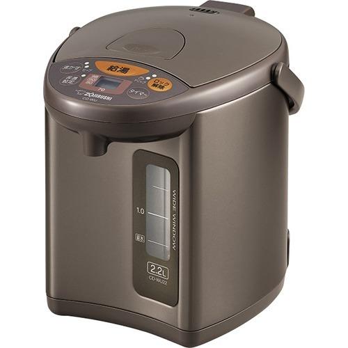 象印 マイコン沸とう電動ポット メタリックブラウン CD-WU22-TM(1台)
