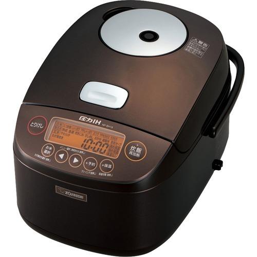 象印 圧力IH炊飯ジャー 1升炊き NP-BH18-TA ブラウン(1台)